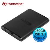 Transcend 創見 ESD230C 960GB USB 3.1 Gen 2 Type-C SSD 外接固態硬碟