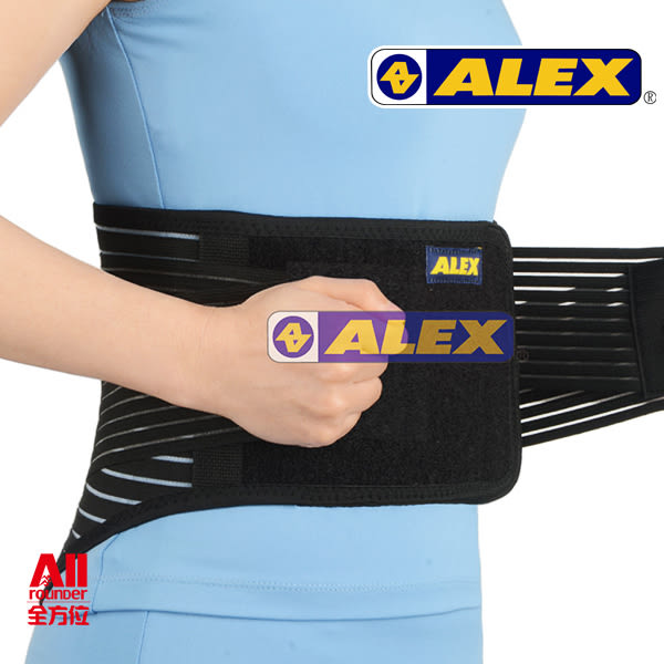 【ALEX 專業護具】護具 -第二代人體工學護腰-S/M/L/XL(T68)【全方位運動戶外館】