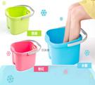 泡腳桶 塑膠桶 可掛毛巾在家做SPA 按摩腳 紓壓腳桶 聯府 18L BX6 [百貨通]