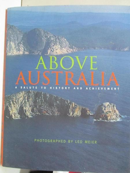 【書寶二手書T4/歷史_DVC】Above Australia: A Salute to History and Achievement