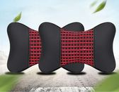 汽車頭枕靠枕護頸枕一對秋冬季冰絲車用頸椎枕頭車載座椅骨頭枕四季    西城故事