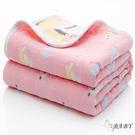 六層紗布被子棉被 0-7歲 洗澡大浴巾四季被 甜美大耳狗 (嬰兒/幼兒/寶寶/新生兒/baby/兒童)