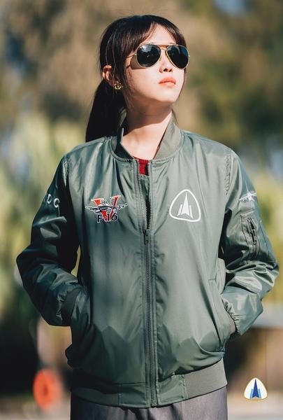 F-16維修中心成立紀念飛行夾克(修身版)