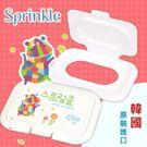 Sprinkle 韓國可重覆黏貼濕紙巾蓋-河馬