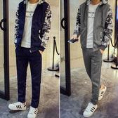 【限量出清超低價】  日韓新品特色迷彩款加厚保暖長袖套裝