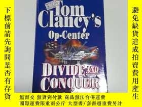 二手書博民逛書店Tom罕見Clancy s Op-Center Divide A