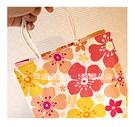 幸福朵朵*【日式風櫻花手提袋(19X24X8cm)小手提袋(包裝袋.可裝禮品)】送客禮物.婚禮小物紙袋
