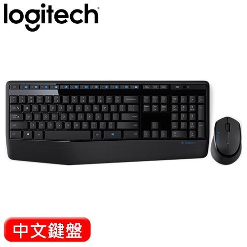 Logitech 羅技 MK345 2.4G無線鍵盤滑鼠組 中文【84折▼省191】