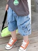 男童牛仔短褲外穿寬鬆潮寶寶夏季工裝褲兒童夏裝薄款褲子韓版2020 茱莉亞