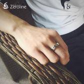 印第安復古高橋太陽圖騰戒指男士個性時尚指環民族風情侶尾戒飾品 生日禮物