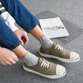 襪子—襪子男士純棉中筒襪四季棉襪男襪吸汗防臭全棉夏季薄款運動籃球襪 依夏嚴選