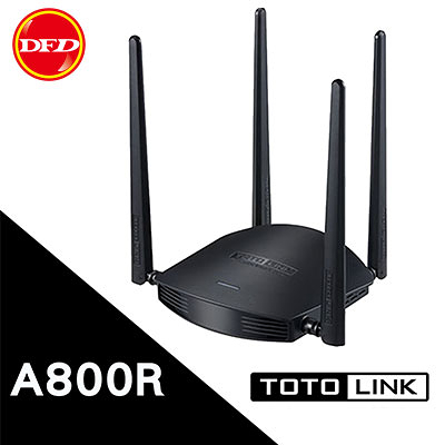 TOTOLINK A800R AC1200 超世代 WIFI路由器 802.11ac  4支5dBi全向性雙頻天線 三年保固 公司貨
