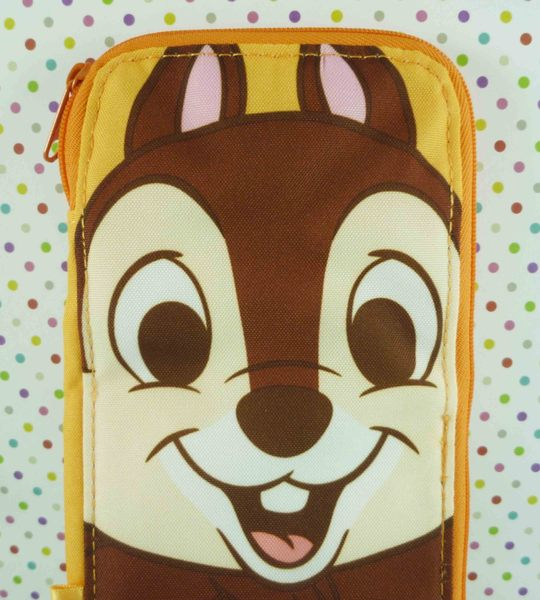 【震撼精品百貨】Chip N Dale_奇奇蒂蒂松鼠~2用置物袋-橘