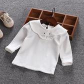 女童春裝寶寶長袖T恤純棉嬰兒打底衫