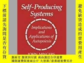 二手書博民逛書店Self-producing罕見SystemsY364153 John Mingers Springer 出