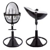 美國 Bloom Fresco chrome 可調式時尚高腳椅/餐椅-黑色【10色椅墊可選】