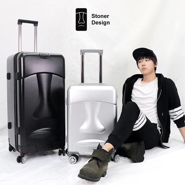 限量福利品 摩艾20吋行李箱 Stoner Design石人 旅行箱 登機箱