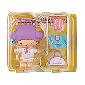 Sanrio 換裝娃娃組 擺飾玩偶 公仔 雙子星 LALA 廚師裝 黃