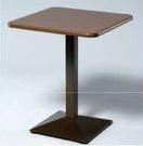 【南洋風休閒傢俱】餐桌系列 -鐵板烤漆60cm圓/方桌 休閒餐桌 洽談桌 (584-14)