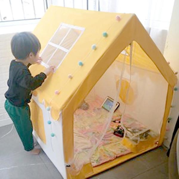 兒童帳篷室內游戲屋女孩公主城堡玩具屋男孩寶寶小房子分床神器 「免運」