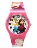 【卡漫城】 冰雪奇緣 卡通錶 M 粉 ㊣版 Frozen 艾莎 安娜 公主 手錶 兒童錶 女錶 膠錶 Elsa Anna