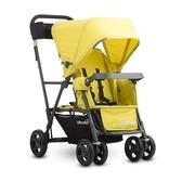Joovy Caboose Ultralight Graphite 新款輕量級雙人推車 - 黃(第二座椅需另購)【佳兒園婦幼館】