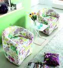【南洋風休閒傢俱】設計單椅系列 - 華爾滋單人休閒布沙發 休閒椅 套房沙發 JX157-1