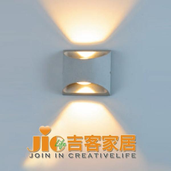 [吉客家居] 壁燈  A190-905 戶外防水壁燈 石頭灰造型復古工業北歐餐廳民宿咖啡館居家F