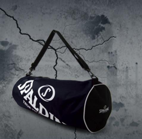 [陽光樂活]SPALDING 斯伯丁 三顆裝 籃球袋 黑色 現貨供應 SPB5314N00 限時下殺八折