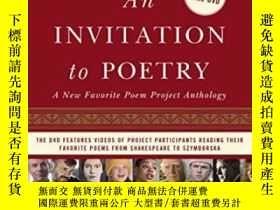 二手書博民逛書店An罕見Invitation To Poetry: A New