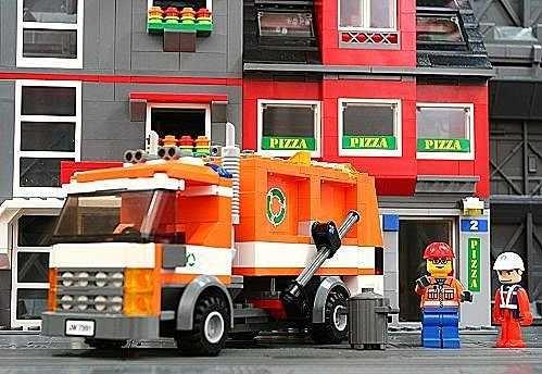LEGO 樂高 CITY 城市系列 Garbage Truck 垃圾車 7991