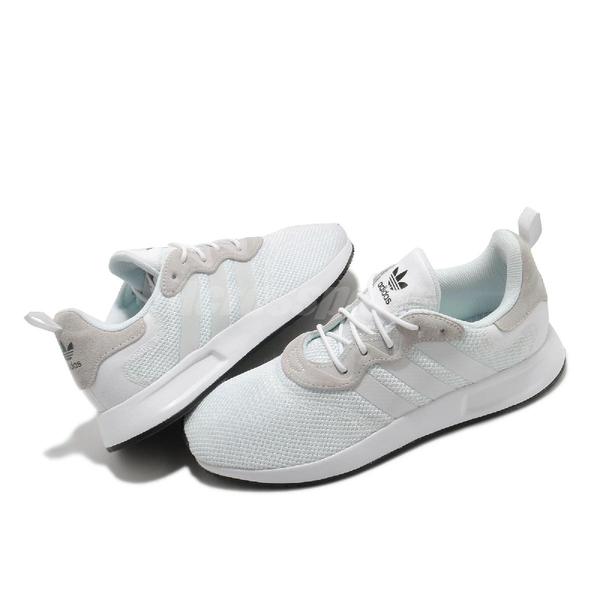 adidas 休閒鞋 X_PLR S 白 灰 男鞋 女鞋 輕量透氣 運動鞋【ACS】 EF5507