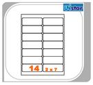 【西瓜籽文具】裕德 電腦標籤 14格 US4678 100張 三用標籤 列印標籤