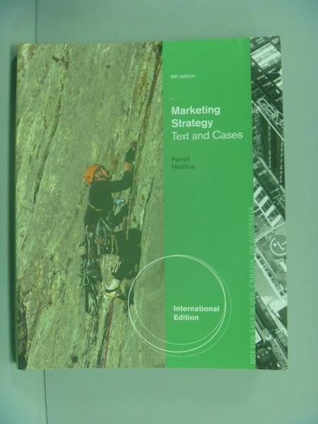 【書寶二手書T7/財經企管_YAK】Marketing Management Strategies 6e [AISE]_