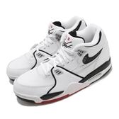 Nike 休閒鞋 Air Flight 89 白 黑 男鞋 皮革 緩震 運動鞋 【ACS】 DB5918-100
