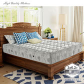 IHouse-涼感水冷膠竹炭纖維硬式獨立筒床墊-單人3x6.2尺