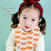圍兜 兒童 純棉 口水巾 寶寶 多色 三角巾 嬰幼兒 BEBEZOO BW