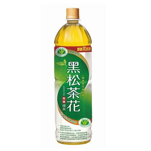 黑松茶花綠茶1230ml【愛買】