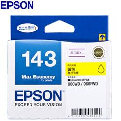 EPSON 原廠墨水匣 T143450 黃色 高印量XL