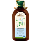 【Green Pharmacy草本肌曜】洋甘菊舒緩豐盈洗髮露350ml (受損脆弱髮質適用)