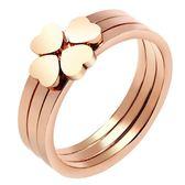 日韓潮人鍍玫瑰金指女 個性簡約食指戒子學生指環【滿999限時八五折】