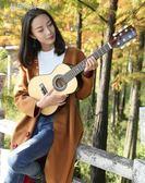 尤克里里 30寸36寸民謠木吉他初學者吉它學生新手練習入門男女通用YXS 夢露時尚女裝