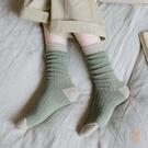3雙裝 中長筒襪子女中筒襪百搭高筒秋冬純...