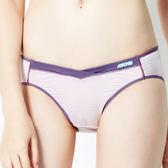 思薇爾-K.K.Fit系列M-XXL素面低腰三角內褲(淡粉紫)