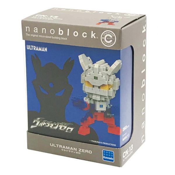 《Nano Block迷你積木》CN-13超人力霸王ZERO╭★ JOYBUS玩具