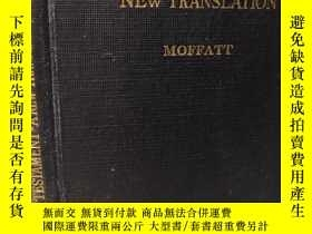 二手書博民逛書店1935年簽名罕見THE NEW TESTAMENT BY JAMES MOFFATEE 13X9.5CMY2