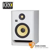 KRK Rokit RP5G4 主動式監聽喇叭 / 5吋錄音室專用(白色/單一顆)台灣公司貨保固