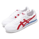 Asics 休閒鞋 Tiger Runner 白 紅 藍 男鞋 復古慢跑鞋 運動鞋 【ACS】 1191A207104