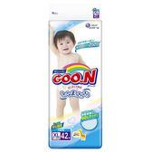 《GOO.N》日本大王紙尿褲境內版(XL42片x4包)/箱-箱購