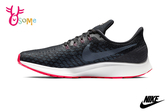NIKE AIR ZOOM PEGASUS 35 成人男款 輕量運動鞋 緩震慢跑鞋 P7054#黑橘◆OSOME奧森鞋業